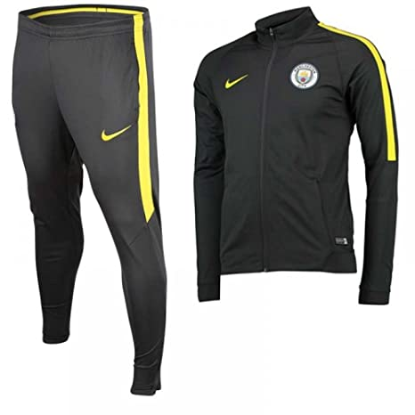 Nike MCFC NK Dry TRK Suit SQD K - Tuta Manchester City per uomo ... 18c35a7fe6fc2