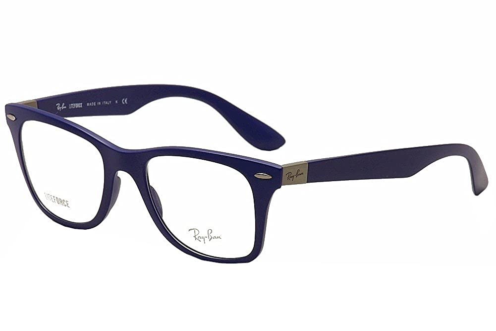 d142a10175 Amazon.com  RAY BAN Eyeglasses RX 7034 5439 Matte Dark Blue 50MM  Shoes