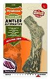 Nylabone Power Chew DuraChew Antler Rawhide Alternative Dog Chew Toy, Large