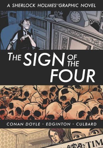 Book cover for The Sign of the Four