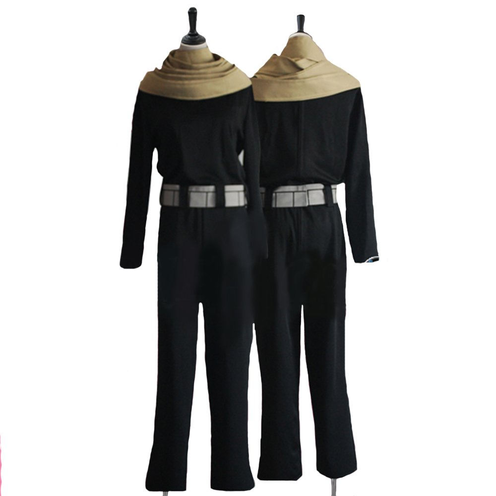 Xcostume Xcoser Aizawa Shouta Costume Deluxe Black Uniform Cloth Hero Academia CL Cosplay Halloween M