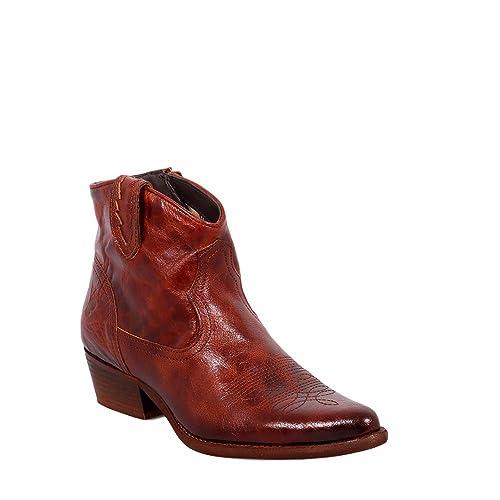Felmini - Zapatos para Mujer - Enamorarse com West B504 - Botines Cowboy & Biker -