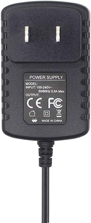 Cable de alimentación de 5,5 V para Panasonic PNLC1029 YA PNLV226 PNLV236 KX-TG Series KX-TG8062 KX-TG8063 cargador de teléfono inalámbrico de repuesto 5,5 V 500 mA adaptador de CA para KX-TGA470 KX-TGA805