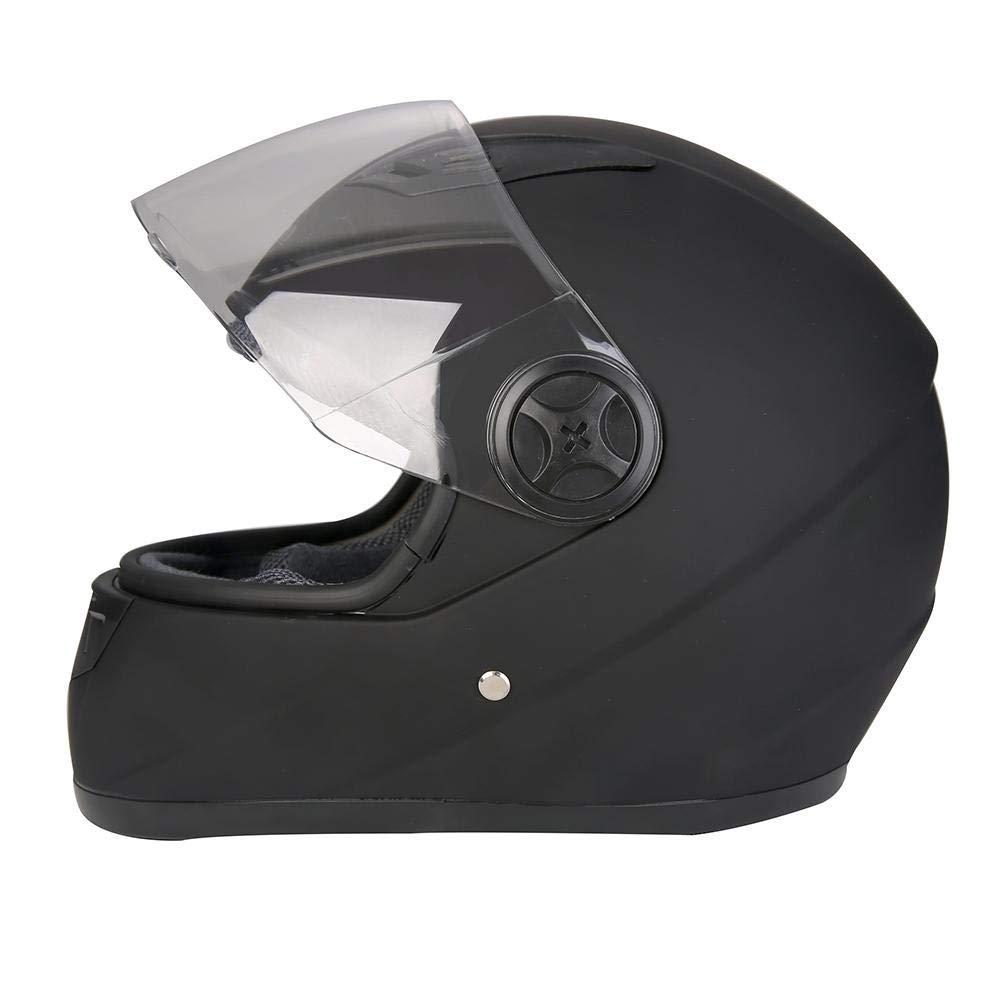 Motocicleta casco protector c/álido casco motor moto invierno