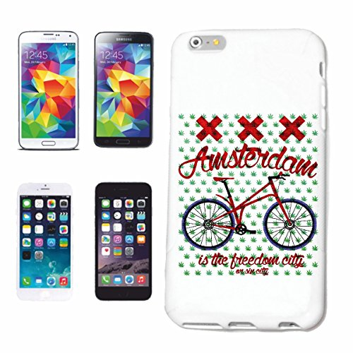 caja del teléfono iPhone 6+ Plus AMSTERDAM BICICLETA MONTAÑA BICICLETA MONTAÑA reparación de la bicicleta de ciclo del paseo en bicicleta BTT CAMISA Caso duro de la cubierta Teléfono Cubiertas cubie