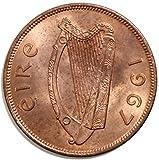 1967 IE 1967 Irish 1d Pingin Penny Good