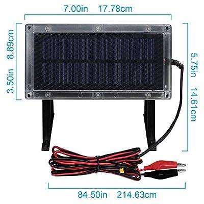 Mighty Max Battery 6V 4.5Ah Battery for American Hunter Deer Feeder + 6V Solar Panel Brand Product: Toys & Games