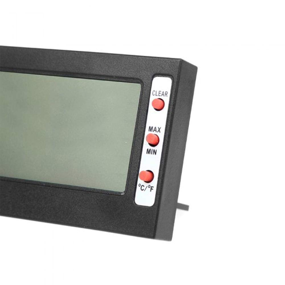 CIdkem 2 in 1 Digital LCD Thermometer Hygrometer Max Min Memory Celsius Fahrenheit