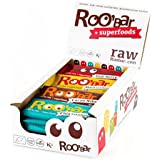 Roobar Raw, Vegan, Organic 16 Bars 50g Variety Box
