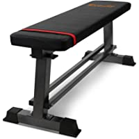Everfit Weight Bench Flat Bench 300kg Capacity Home Gym Bench Exercise Bench Press Weight Training Machine Crunches