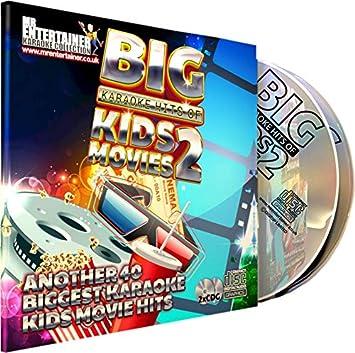 Mr Entertainer Big Karaoke Hits of Kids Movies Volume 2 CD+G Pack ...