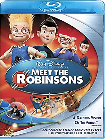 amazon com meet the robinsons blu ray daniel hansen jordan fry