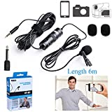 236'' BOYA BY-M1 Lapel Clip-on Professional 3.5mm Omnidirectional Camera Lavalier Condenser Recording Microphone