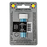 3 x Sugarflair BLUE Edible Lustre Glitter Dust for Sugarcraft Cake Decorating