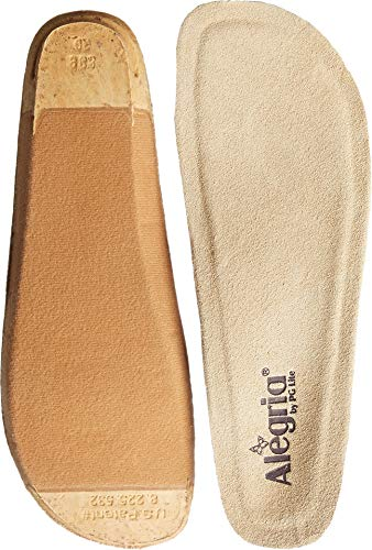 Alegria Women's Replacement Footbed None,Alegria Beige,43 - Three Uniforms