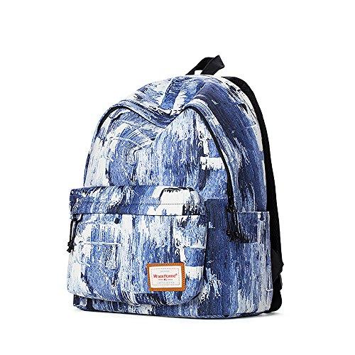 (CORDURA Backpacks School Bag Casual Travel Daypacks Waterproof Easy to Clean (G))