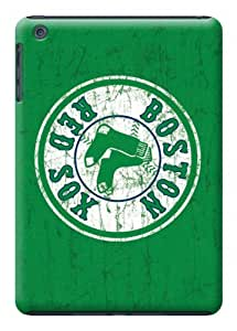 LarryToliver Boston Red Sox Green color case battery cover for ipad mini