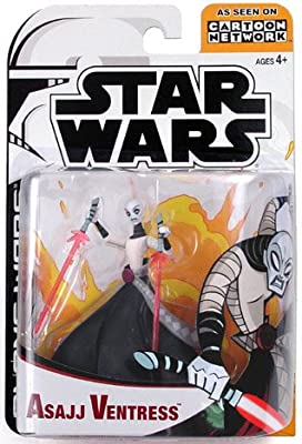 Star Wars Animated Clone Wars Figures Asajj Ventress