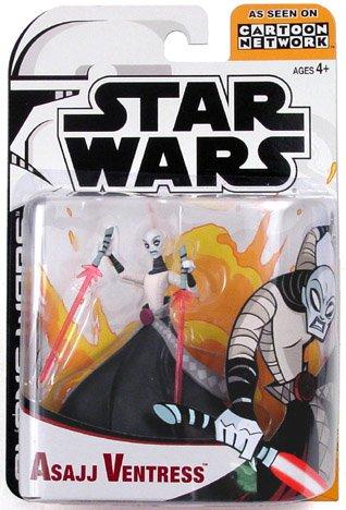 Star Wars Clone Wars Ventress (Star Wars Animated Clone Wars Figures Asajj Ventress)