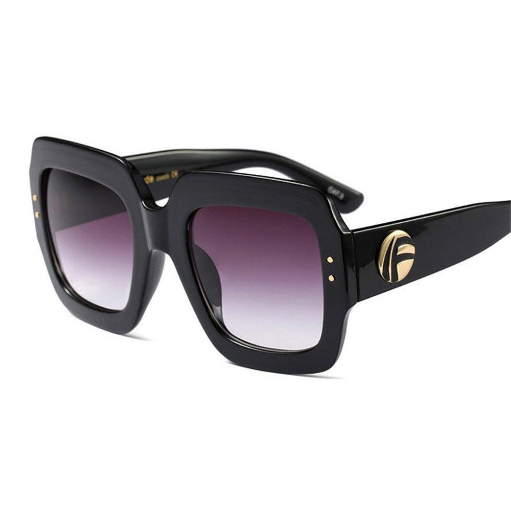 1c10ee92544 2018 Italy Luxury Brand Oversized Square Sunglasses Women Men Brand Designer  Retro Frame Sun Glasses For Female Green Red Oculos