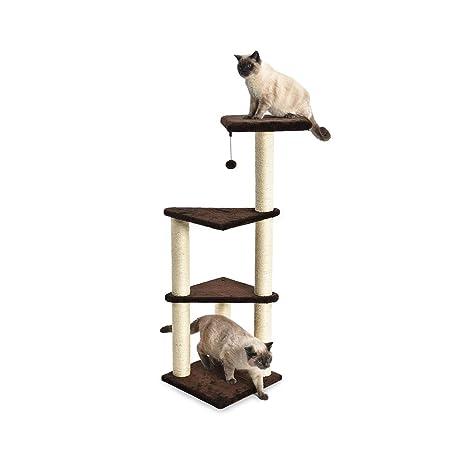 AmazonBasics - Torre en árbol de tres pisos para observación para ...