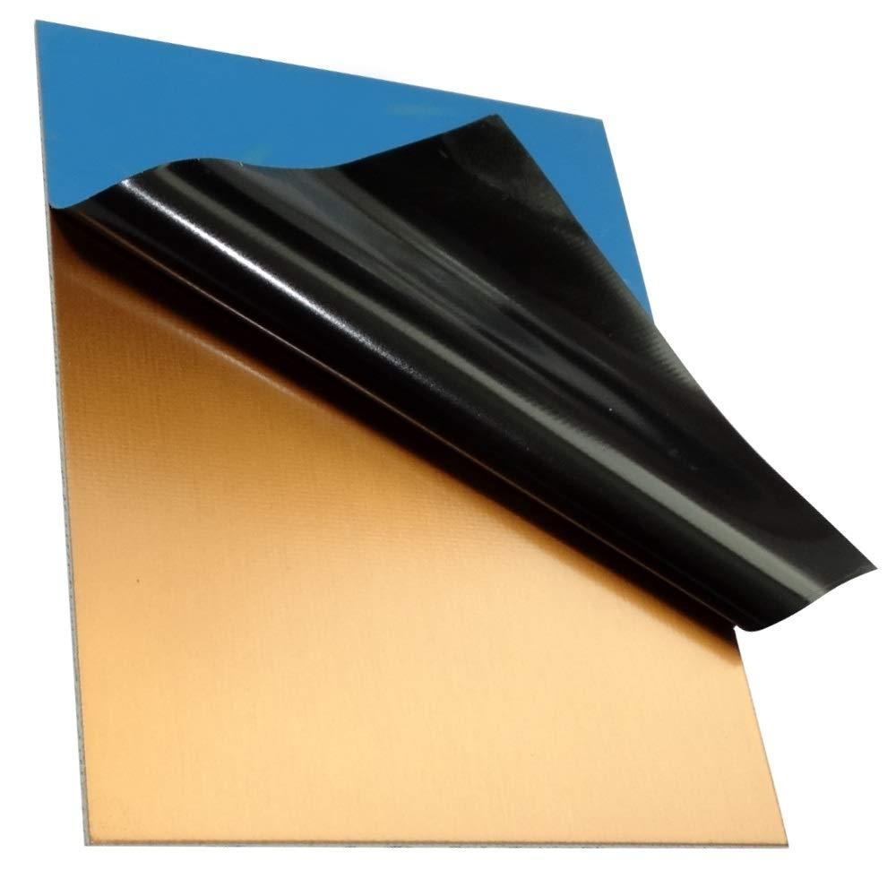 Placa Hojas de Cobre para Circuito Impreso 200//150//1.5mm 35/µm Resina epoxi de Fibra de Vidrio C40719 AERZETIX