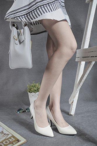 CFP - Sandalias con cuña mujer blanco