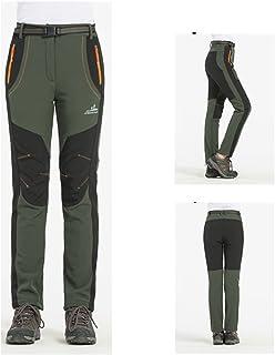 ZANTEC Pantaloni Invernale Sci per Donna e Uomo Pantaloni Sci Bambina per Viaggio Moto Sport Invernali Pesca Impermeabile Pantaloni Camping Hiking Skiing