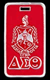 Delta Sigma Theta (DST) Sorority Embroidery Luggage Tag