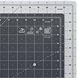 """ARTEZA 18"""" x 24"""" Self Healing Rotary Cutting Mat, Quilting, Sewing, Craft Double Sided Cut Board for Fabric, Paper (3mm Thick)"""
