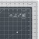 ARTEZA Self Healing Rotary Cutting Mat, 18''x24'' with Grid & Non Slip Surface for Fabric, Paper, Vinyl, Plastic, Eco Friendly, Durable & Flexible, Great for Crafts, Quilting, Sewing, Scrapbooking