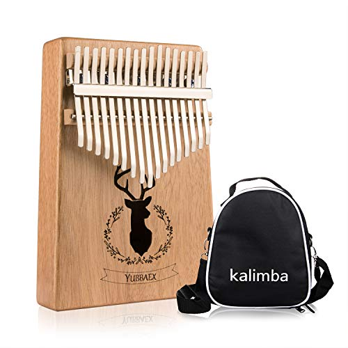 YBx Thumb Piano 17 Keys Kalimba African Animal Finger, used for sale  Delivered anywhere in Canada