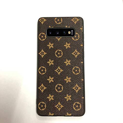 (Lionkingcase New Vintage Luxury Monogram for Samsung Galaxy S10 Plus Case. Handmade with Premium TPU. Soft Flexible Anti-Scratch Drop Protection (6.4 inch) (Luxury))