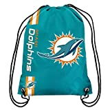 NFL Miami Dolphins Big Logo Drawstring Backpack