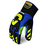 Ironclad KONG INDI-RIW-04-L Industrial Impact Rigger Insulated Waterproof Oil & Gas Safety Gloves, Large