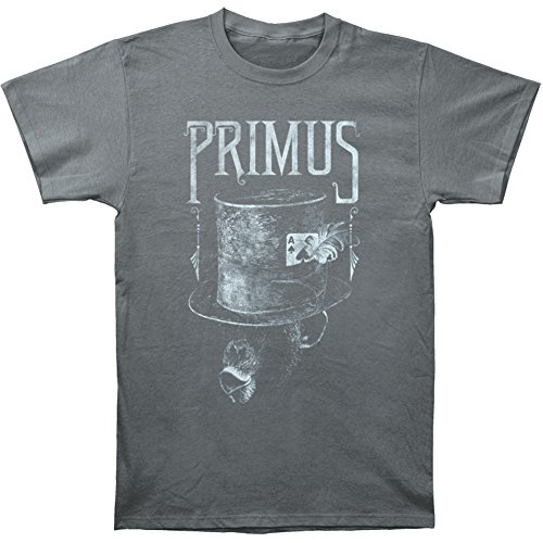 Sleeve T-shirt Hat Top Short (Primus - Monkey In Top Hat T-Shirt Size M)