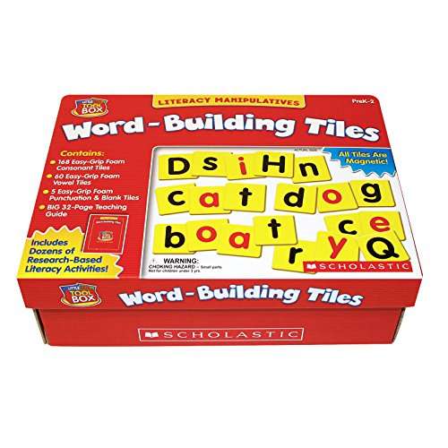 Little Red Tool Box - Little Red Tool Box: Word-Building Tiles