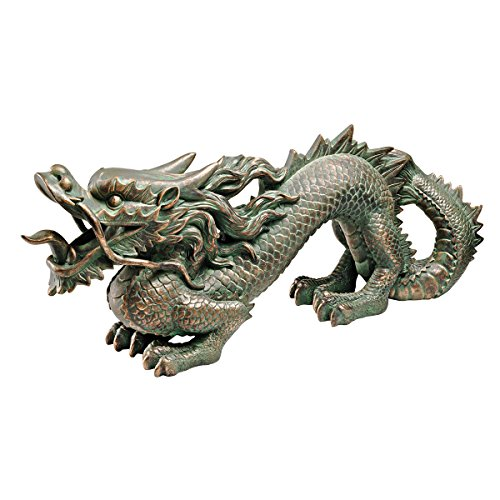 Cheap  Design Toscano Asian Dragon of the Great Wall Statue
