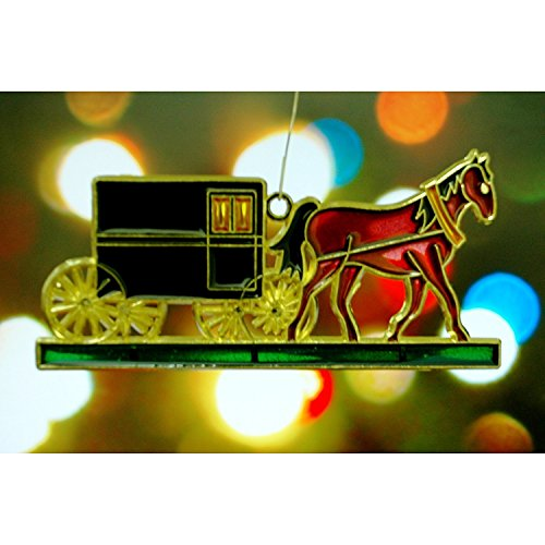 Horse Christmas Tree Ornaments - 4