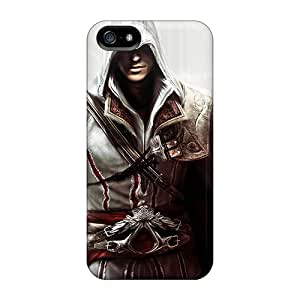 SherriFakhry Iphone 5/5s Bumper Hard Phone Case Support Personal Customs Stylish Assassins Creed Pattern [Vgp15773nkKU]