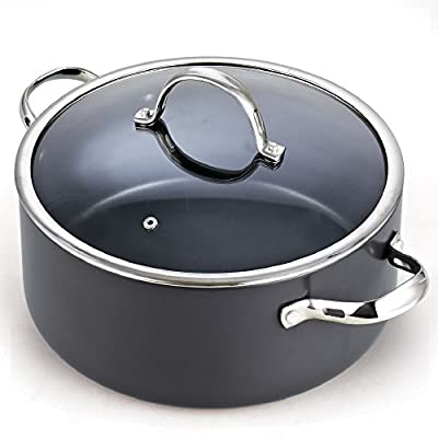 Cooks Standard 6 Quart Nonstick Hard Anodized Stockpot
