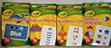 Crayola Early Learning Flash Cards Set of Four Packs