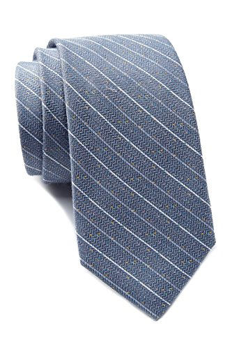 Ben Sherman Striped Tie - Gray