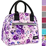 OPUX Lunch Bag for Women | Insulated Lunch Tote for Ladies, Girls, Female | Medium Reusable Soft Lunch Box Purse Cooler...