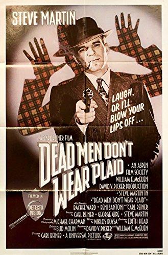 Dead Men Don't Wear Plaid 1982 U.S. One Sheet Poster