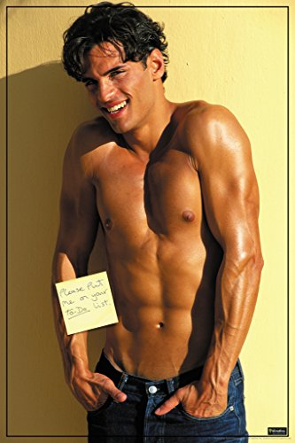 Put Me On Your ToDo List Hot Guy Funny Poster