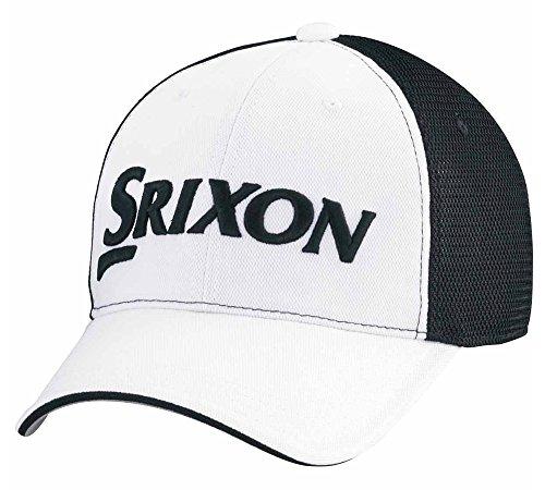 戸惑う避けられない他のバンドでDUNLOP(ダンロップ) SRIXON メッシュキャップ SMH8133 ホワイトブラック