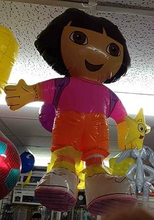 Disney - Abanico inflable para televisor con diseño de Dora la ...