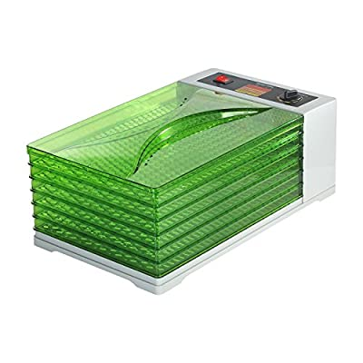 HomCom 6 Tray 630W Fruit and Vegetable Dryer Food Dehydrator