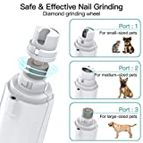 JOEJOY Dog Cat Nail Clippers and Grinder Set, with